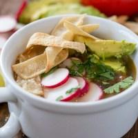 Tex Mex Chicken Tortilla Soup