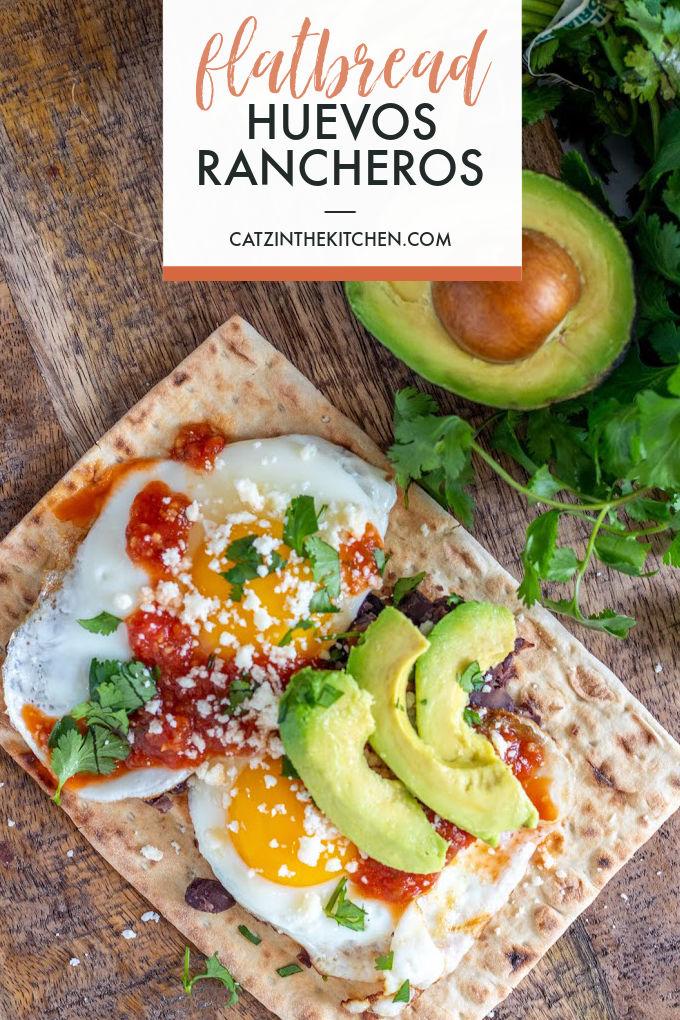 Flatbread Huevos Rancheros