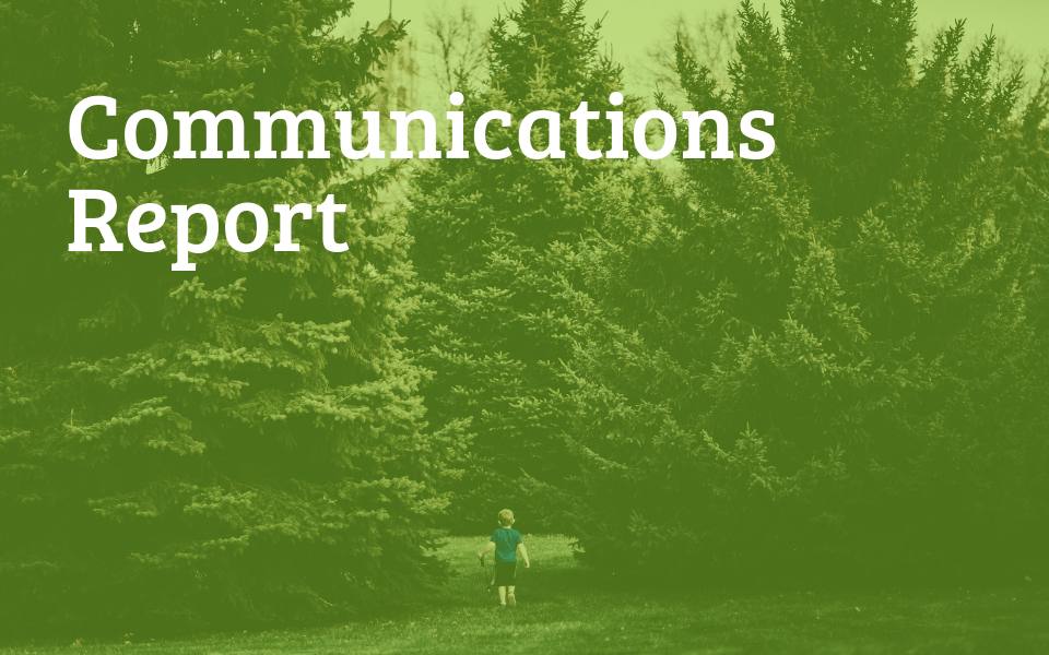 March 2019 Comms Report