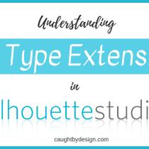 Silhouette Studio File Types