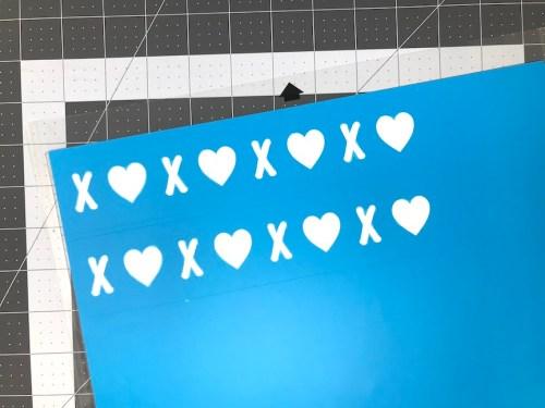 Oramask 813 Valentine Stencil