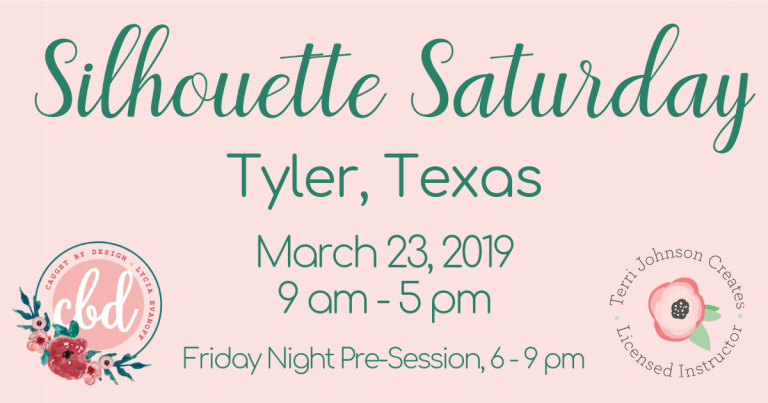 Registration ends soon for Silhouette Saturday 2019!