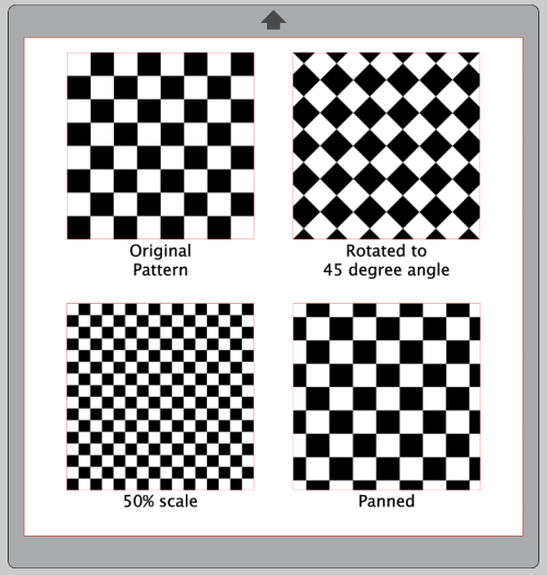 Silhouette Studio, Fill Pattern