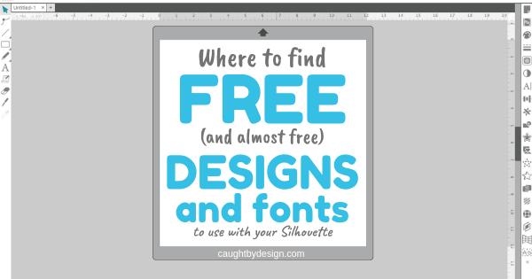 Free Designs, Free Fonts, Silhouette, Silhouette Studio