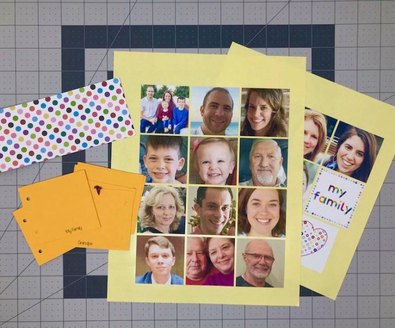 Silhouette Studio, Photo Projects, Photo Album, Cameo, Portrait, Silhouette, Print & Cut, Print and Cut