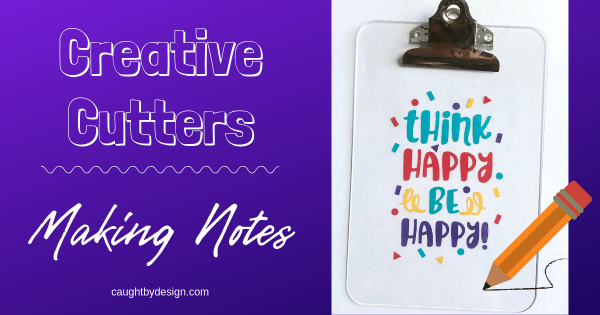 Creative Cutters Making Notes Featured Image