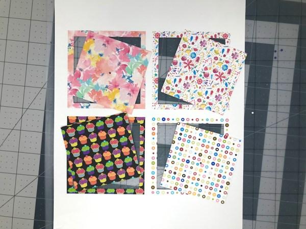 Pattern Fills, Print & Cut, Silhouette Studio, Silhouette Cameo, Silhouette Portrait, Portrait, Cameo