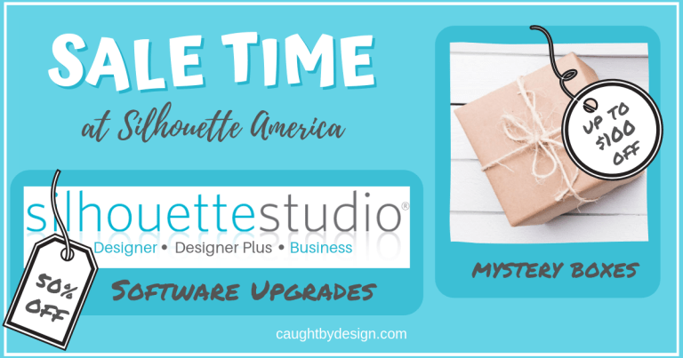 Software Sale and MORE at Silhouette America!