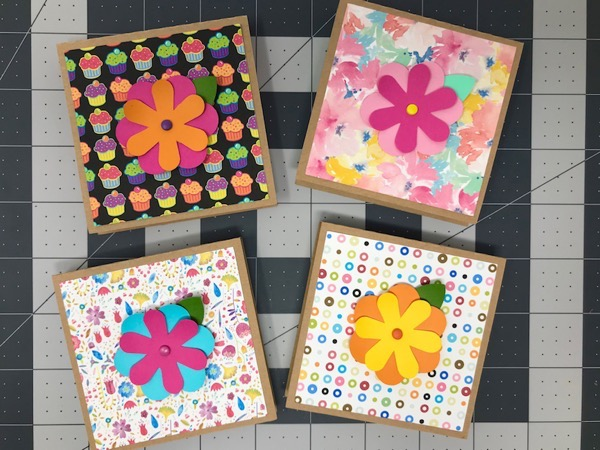 Decorated sticky note holders