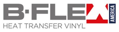 B Flex Heat Transfer Vinyl logo