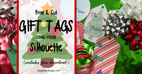 Print & Cut Gift Tags in Silhouette Studio