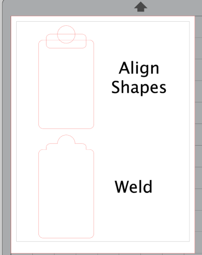 Drawing and Welding Shapes in Silhouette Studio