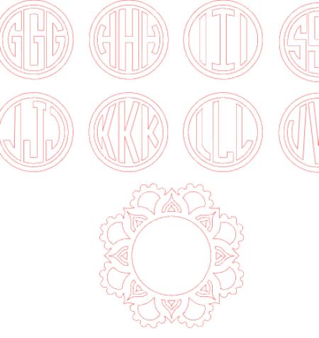 Mandala Monogram by Studio Illustrado
