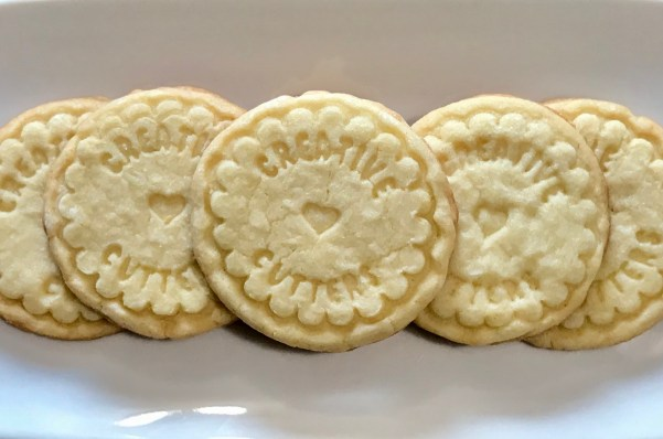 Stamped Sugar Cookies with Creative Cutters design