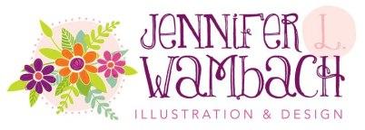 Jennifer L Wambach Illustration & Design logo