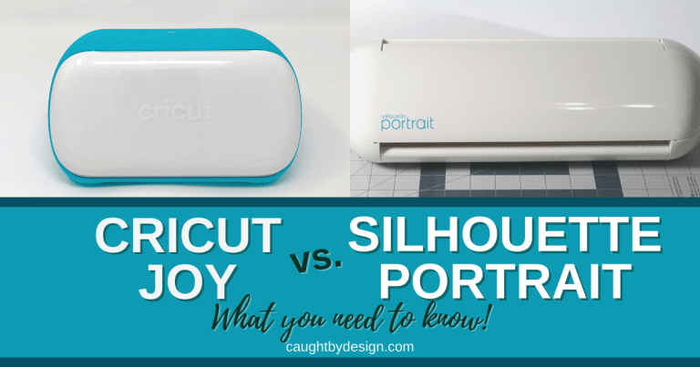 Cricut Joy vs Silhouette Portrait – What You Need to Know
