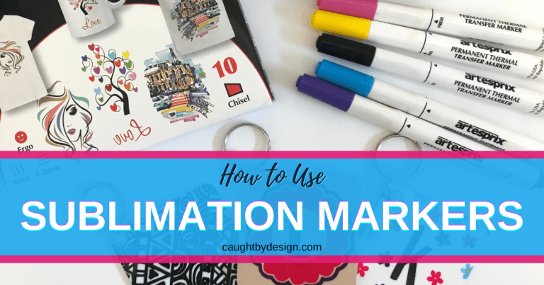 How to Use Sublimation Markers