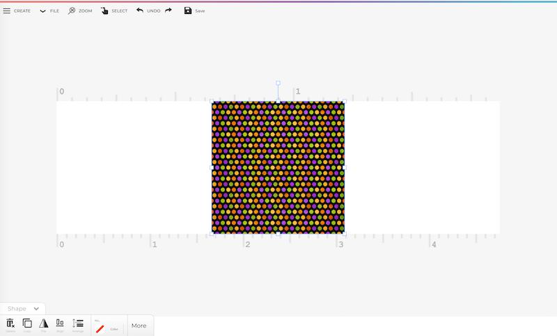 Designing Custom Washi Tape in the PrintMaker App