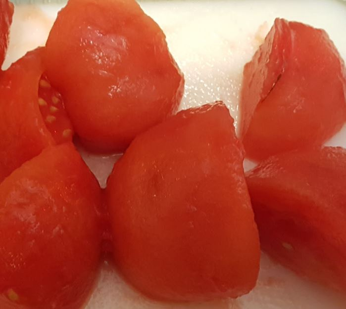 Quartered Tomatoes