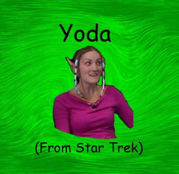 Image from Inaccurate Quotes (As any good geek will know, Yoda is a Star Wars character)