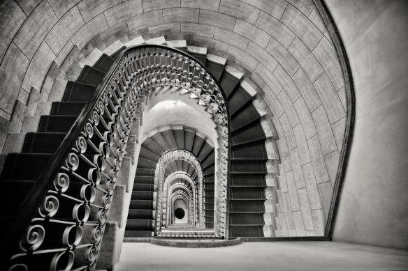 Staircase Perspective by George Oze