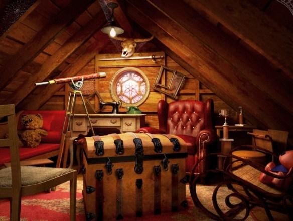 attic retreat
