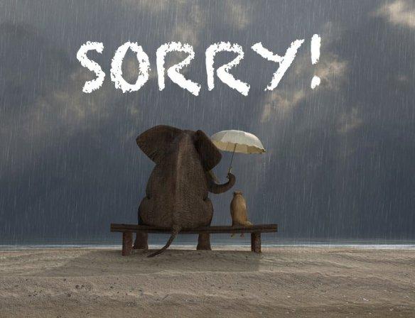 sorry event postponed