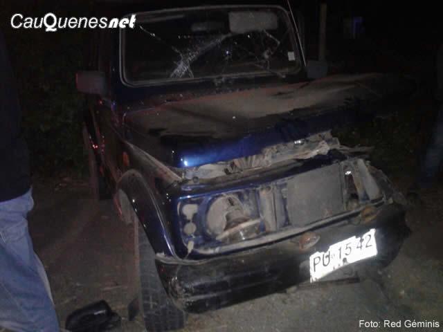 Siguen los accidentes automovilísticos en las rutas cauqueninas