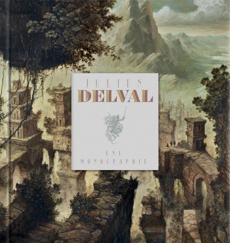 Couverture de l'artbook Monographie de Julien Delval.