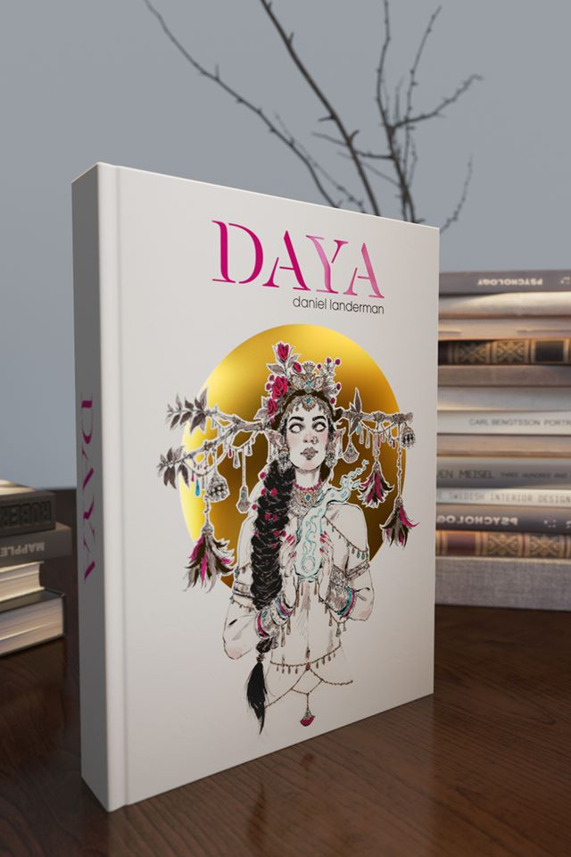 Image de l'artbook Daya de Daniel Landerman.