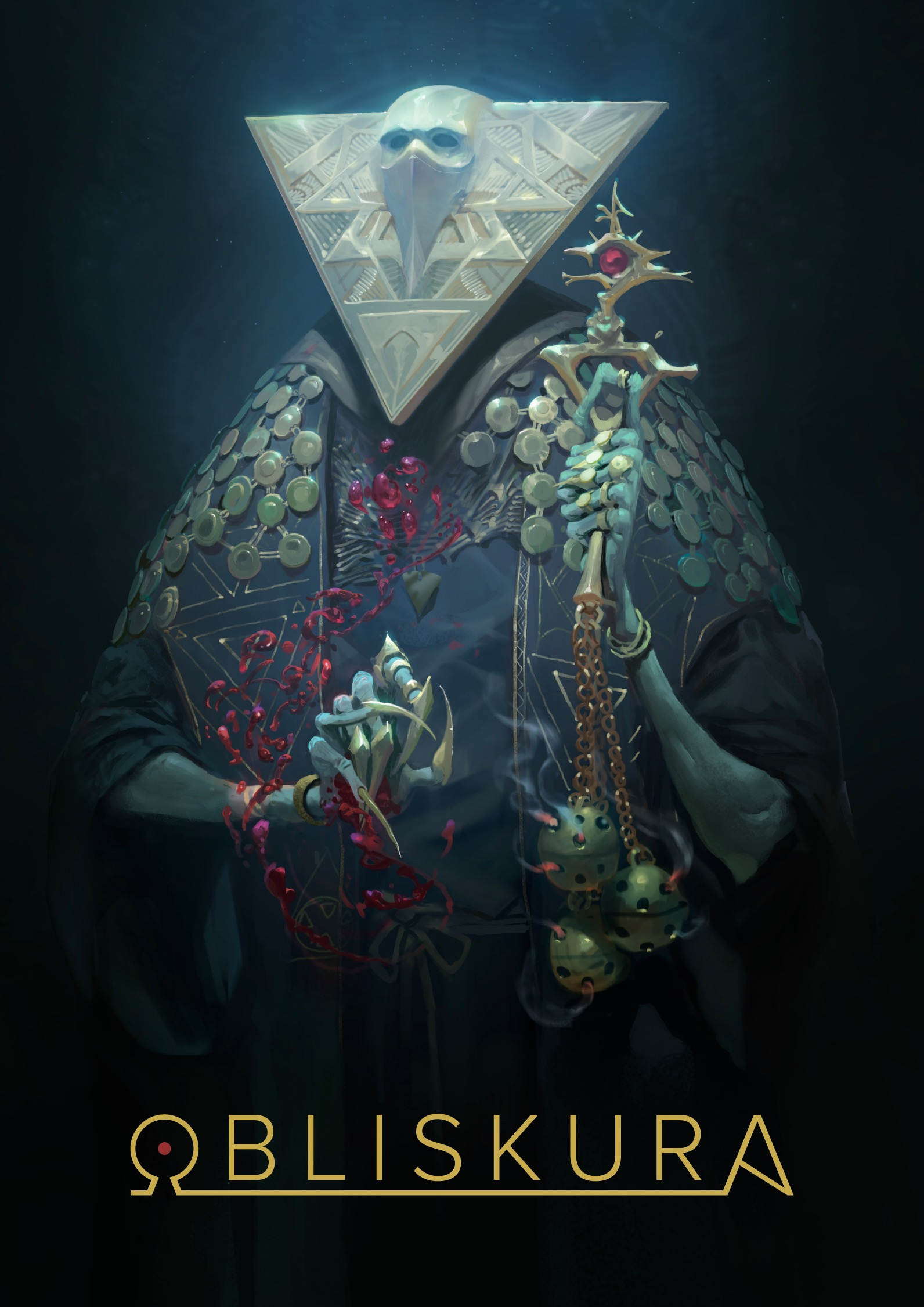 Couverture d'Obliskura d'Alex Konstad.