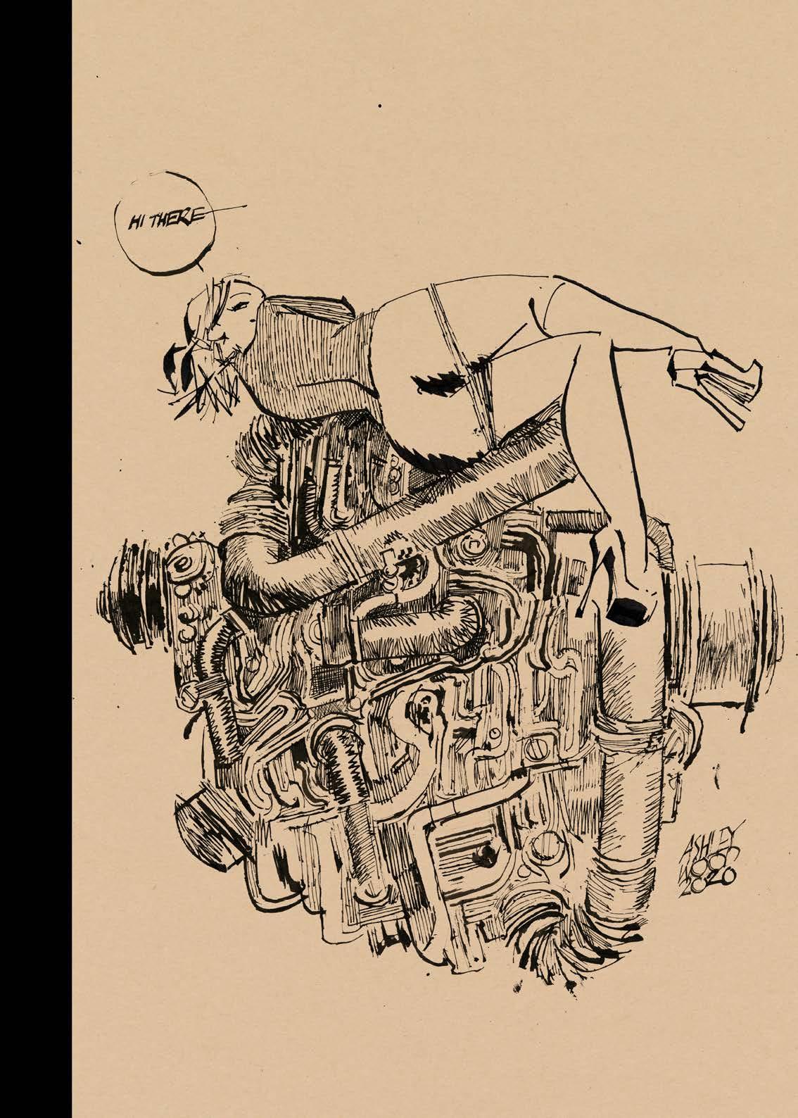 Artbook Ashley Wood - AWD XL BLACK. Couverture.