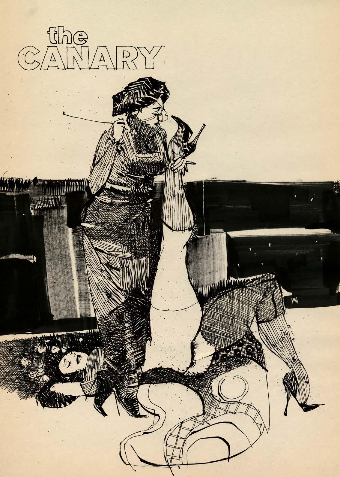 Image de l'artbook Ashley Wood - AWD XL BLACK. Inspection des talons.