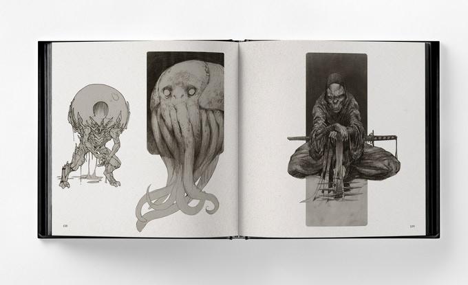 Bjorn Hurri et Lovecraft, un sacré bon mélange pour un arbook effroyable !