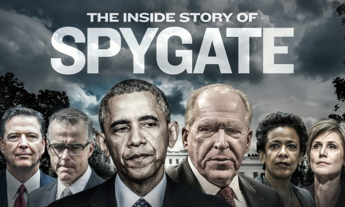"""Spygate Starts To Unravel. Man. An Evil Bowl Of """"Dropped Spaghetti"""" Laid Out By Jeff Carlson With Our Thanks to The Epoch Times"""