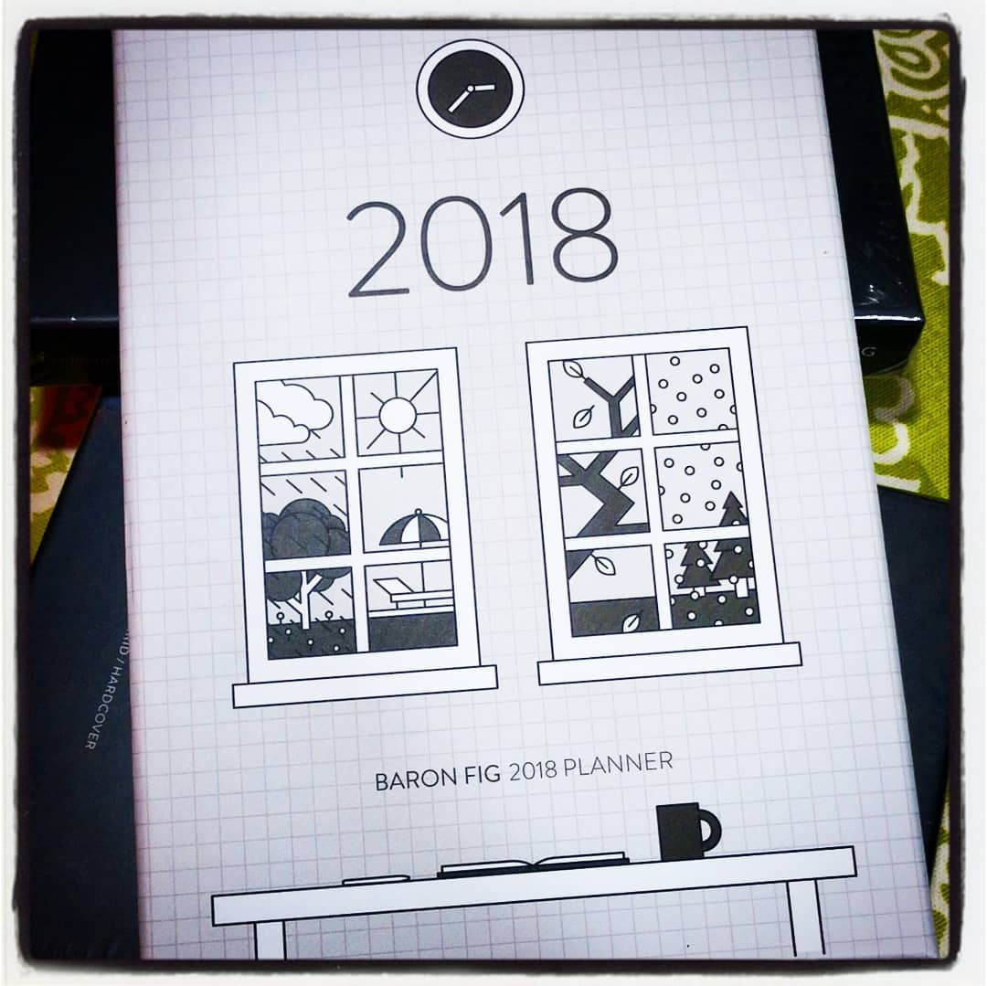 the special edition #BaronFig #planner will be available at #chicagoplannerconference alongside a #bulletjournal dot notebook dying for stickers, washi, watercolor, gels, and fountain inks. smaller than a HP/EC to fit in your bag, larger than a pocket/A6 to have fun with layouts #plannerStickers #planneraddict #bujo