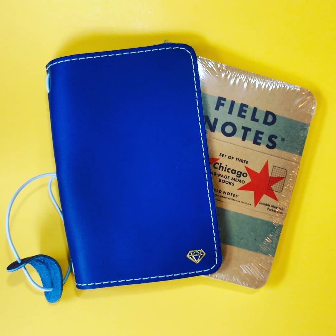 field notes notebooks fit the pocket foxy fix covers attendees of the @chicagoplannerconference received! this is the Chicago limited edition. only a few left and they're gone forever