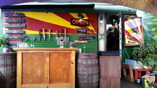 Food truck or Beer truck? lol Portland, Oregon