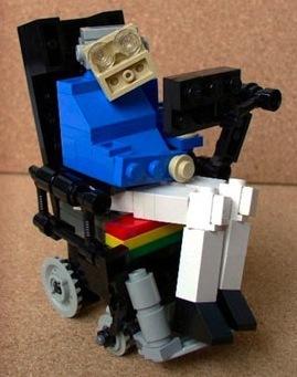 Lego Dr. Stephen Hawking