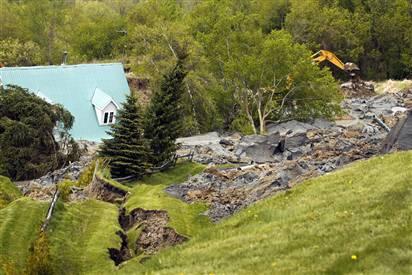Quebec Landslide