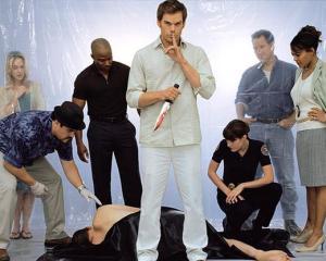 Dexter -- The serial killer who kills other killers.