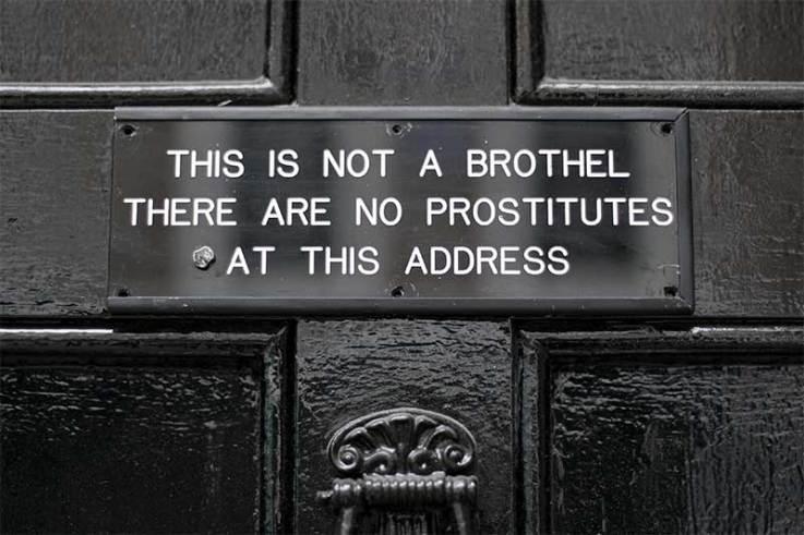 Not a Brothel