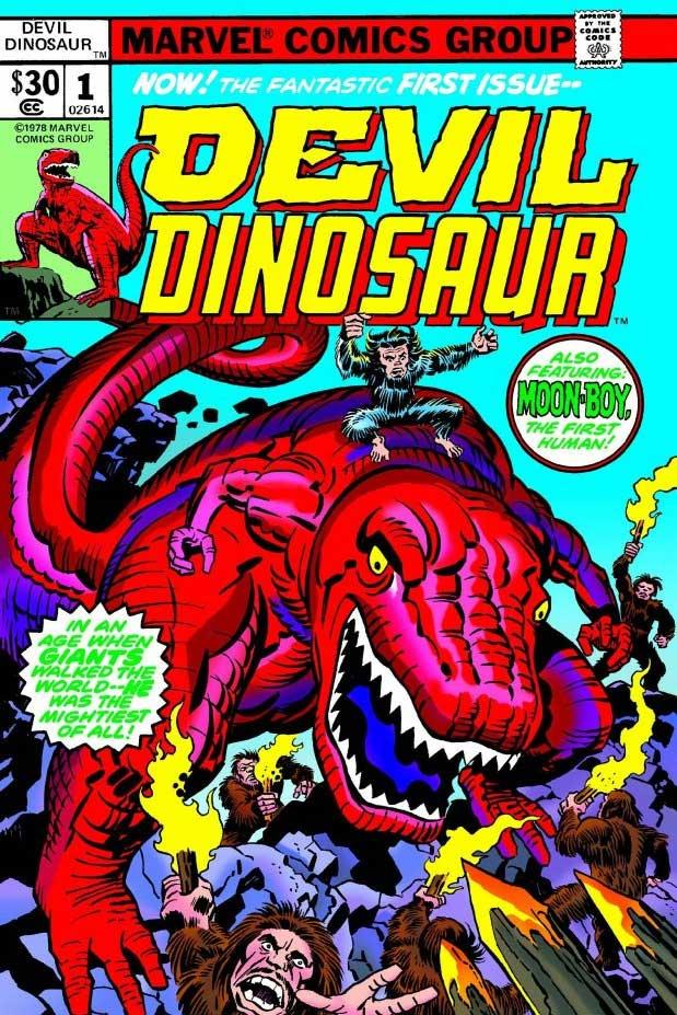 Devil Dinosaur (and Moon Boy!)