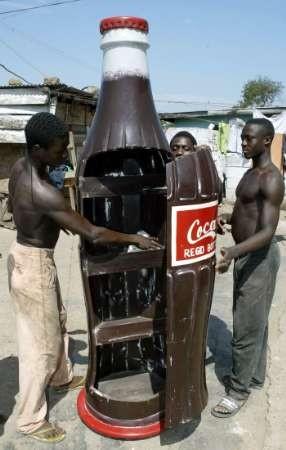 Coca-Cola Coffin