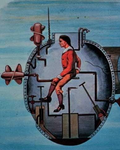 Turtle Submarine