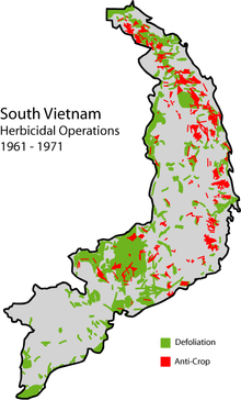 Herbicide operations