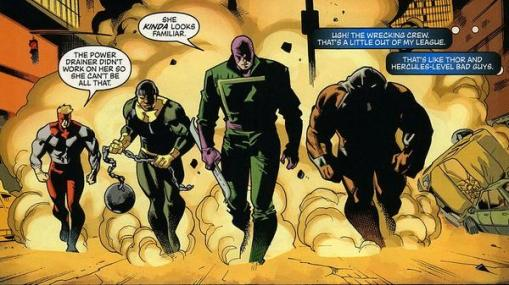 Marvel Wrecking Crew