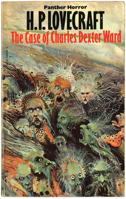 Ian Miller the case of charles dexter ward hp lovecraft cover