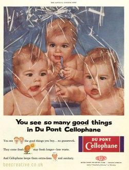 Dupont Cellophane Babies