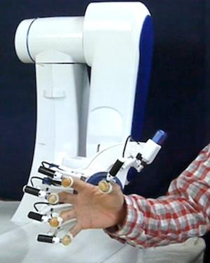 Haptic Robot hand